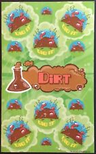 Dr. Stinky's Scratch & Sniff Stickers - Dirt - Mint Condition!!