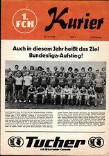 30.07.1976 1. FC Nürnberg - Manchester United