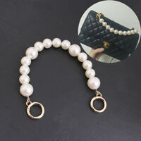 Faux Pearl Bag Strap Replace Top Handle On Handbag Classic Flap