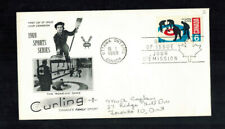 New listing Fdc-1618*Canada 1969*Ccurling Fdc*Cachet*Scott # 490