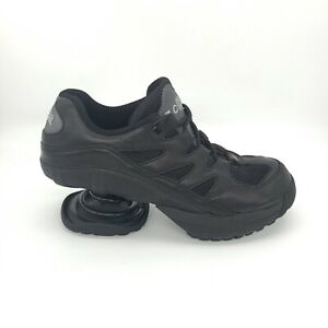 Z Coil Womens Black Leather Shoes Freedom Classic Spring Therapeutic Size 9 W