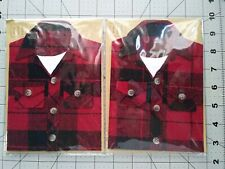 Papyrus 3D Flannel Shirt Happy Birthday Cards 2 count