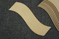 10 x Plain Wooden Bookmark Shape Craft Embellishment Decoupage Unpainted BF