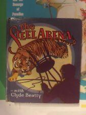 THE STEEL ARENA HARDCOVER Saalfield Big Little Book 1104