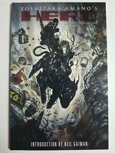 Yoshitaka Amano's Hero (2006) #nn - Near Mint - Illustrated fiction,Gaiman intro