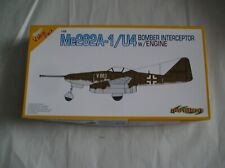 Dragon 1/48 Me262A-1/U4 Model Kit With Engine & Cannon #5567 hard to find kit