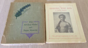 Justine Kenyon - THE ABORIGINAL WORD BOOK - 1930 1st Edition - Boxed