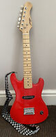 Johnny Brook red Childs/Junior electric guitar