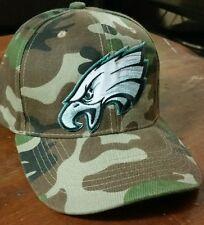 "Philadelphia Eagles Camo Hat NFL Football Team Hat.""The Birds in Camoflauge Cap"""
