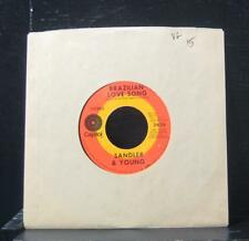 "Sandler & Young - On Days Like These / Brazilian Love Song 7"" VG 2636 Vinyl 45"