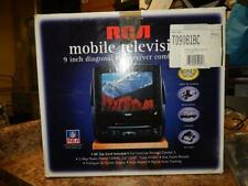 "RCA Portable / Mobile 9"" CRT Gaming TV & VCR Combo T09081BC Complete Boxed"