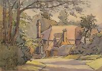 Kathleen Palmer - Signed Mid 20th Century Watercolour, Tudor House