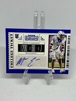 Mike Edwards 2019 Panini Contenders Draft Picks #299 College Ticket Rookie AUTO