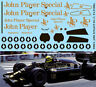 1/18 FOR F1 LOTUS 98T 1986 MISSING JPS DECALS TB DECAL TBD212