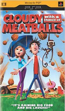 Cloudy With A Chance Of Meatballs UMD For PSP Anime Very Good 5E