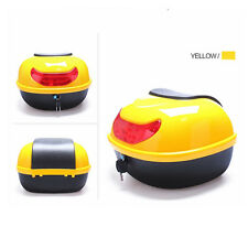 Motorcycle Tail Box Scooter Trunk Top Case SaddleBags Luggage