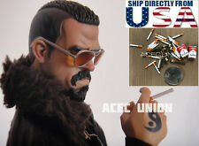 """1/6 Scale Cigar Cigarette Pack Set Paper Model For 12"""" Figure Phicen HotToys USA"""