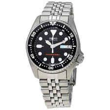 Seiko Black Automatic Diver Men's Watch SKX013K2