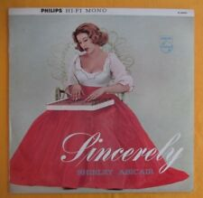 Shirley Abicair (1960's Australian folk singer) Lp - Sincerely, exc