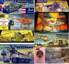 REPRODUCTION DECALS FOR VINTAGE SIKORSKY PIASECKI KAMAN HILLER BELL CHOPPERS
