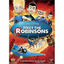 Meet the Robinsons - Disney (DVD, 2007) voiced by Tom Selleck, Adam West