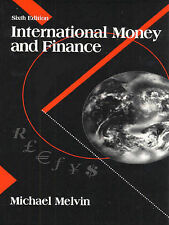 International Money and Finance (Series in Economics), Melvin, Michael, Used; Go