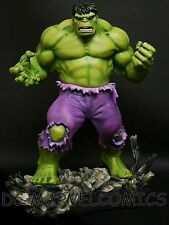 BOWEN DESIGNS THE INCREDIBLE HULK STATUE RETRO Version MARVEL GREY Red FIGURINE