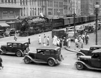 New York Central photo Steam Locomotive # 4506 4-6-2 Train Syracuse, Ny
