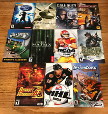 Lot of 11 Sony Playstation 2 PS2 Manuals ~ Call Of Duty, Midnight Club…