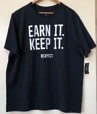 "Mens Jordan RE2PECT ""Earn it. Keep It 897896-010 Black Brand New Size 2XL"