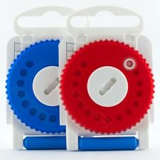 HF3 Wax Filter Siemens, Resound Wax Guard Red or Blue (Dial of 15 wax traps)