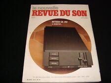 LA NOUVELLE REVUE DU SON<>OCTOBER 1982<>FRENCH AUDIO MAG.°#61° ACCUPHASE M100