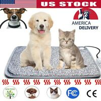 Pet Heating Pad Indoor Outdoor Cat Dog Bed Doghouse Heater for Small Large Dogs