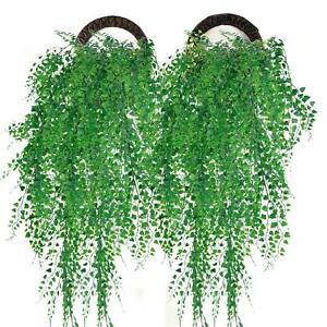 Artificial Trailing Ivy Vine Leaf Hanging Garland Greenery Plant Fake Foliage