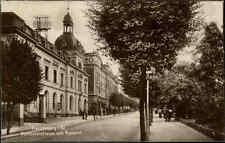 FRANKENBERG Sachsen Humboldt-Strasse mit Post Postamt 1924 alte AK frankiert