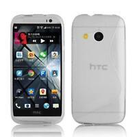 GENUINE INVENTCASE S LINE TPU GEL CASE COVER SKIN + FILM FOR HTC ONE MINI 2