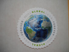 NO GUM 10 random global forever USA stamps
