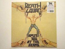 DEATH SQUAD SPLIT YOU AT THE SEAMS LP RARE 1991 OLYMPIA, WASHINGTON THRASH METAL