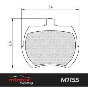 Mintex Racing MLB37 M1155 High Performance Brake Pads