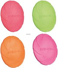 Trixie Dog Disc, Natural Rubber,Floats,Various Sizes, Assorted Colors