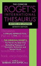 The Concise Roget's International Thesaurus (Paperback or Softback)