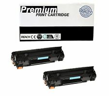 2pk Cb436a 36a Toner Cartridge For Hp Laserjet P1505  M1522nf