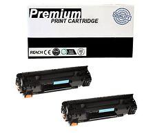 2pk Cb436a 36a Toner Cartridge For Hp Laserjet P1505  M1522nf