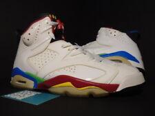 2008 Nike Air Jordan VI 6 Retro BEIJING OLYMPIC WHITE RED GREEN BEAN BLUE NEW 10