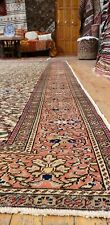 "Beautiful Vegy Dye Antique 1940's Wool Pile Legendary Hereke Rug 8'3""×11'6"""