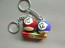 Keychain-The Pool ball (Assorted 2 Styles for selection)