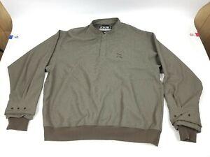 Zero Restriction Gulf Outwear Longsleve Shirt Green Sz Large