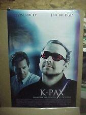 K-PAX, orig rolled D/S 1-sht / movie poster (Jeff Bridges, Kevin Spacey)