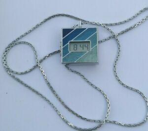 New Rare CASIO 125 PENDANT Vintage WATCH MONTRE POCKET GSHOCK SEIKO DIGITAL LCD