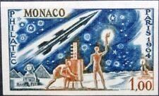 Monaco 1964 Maury 667 772 U NON DENTELE Philatec Paris Space Communication Neuf sans charnière
